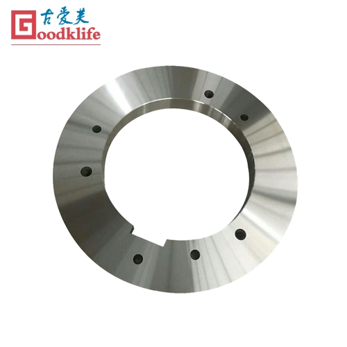 Rotary slitter knives for coil processing line
