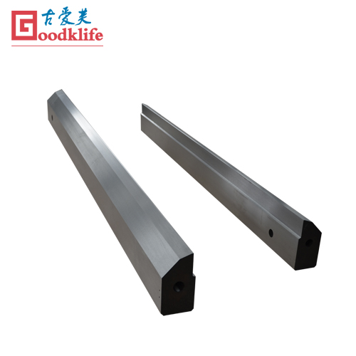 Hot strip mill cutting blade