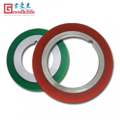 Rubber bonded spacers for coil processing line