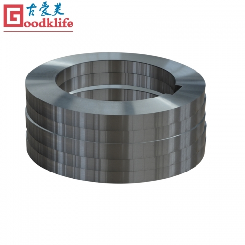 Galvanized steel coil processing blade for slitting line