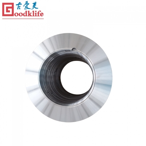 Rotary shear blade for cutting hot rolled coils